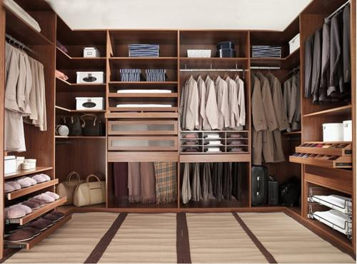 Fashionable Closets & Storage Room