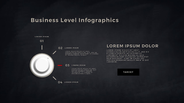 Business Level Infographics Free PowerPoint Template Slide 5