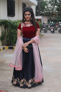 Actress Aathmika in lovely Maraoon Choli ¬  Exclusive Celebrities galleries 010.jpg