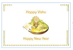 Happy Vishu Facebook Profile Pictures