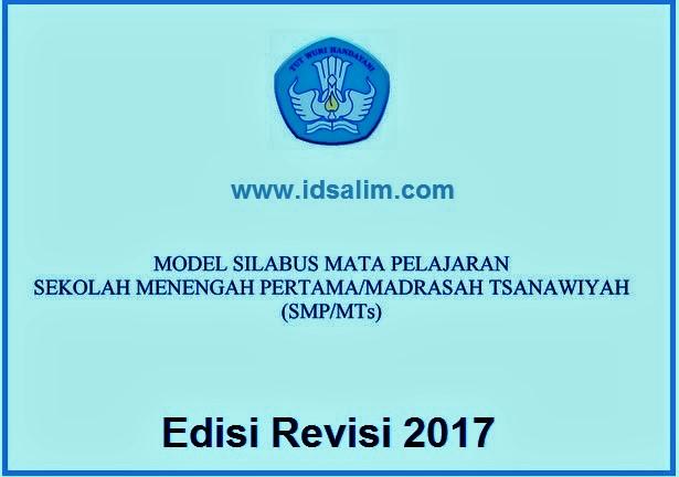 Download Sibabus Kurikulum 2013 Untuk SMP Revisi 2017