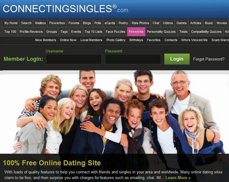List of 100 free dating sites for singles