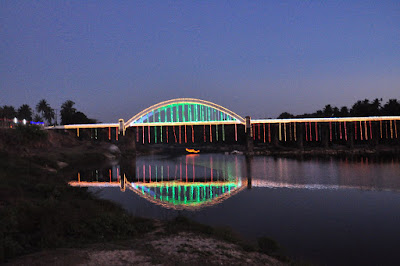 Tunga Bridge, Thirthahalli