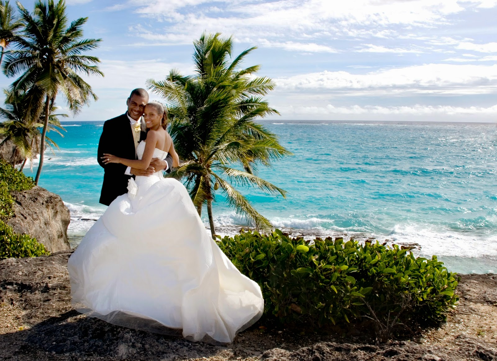 Canadian Brides Fly Stay And Wed For Free In Barbados The Compeive Market Of Destination Weddings