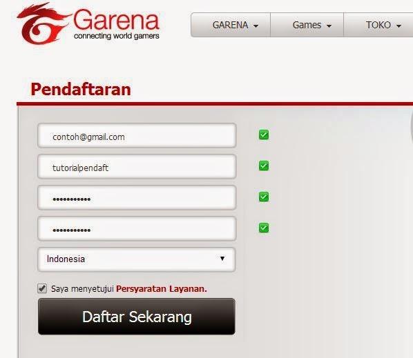 Cara Membuat ID FIFA Online 3 Garena Indonesia