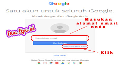 Cara mengatasi lupa sandi google