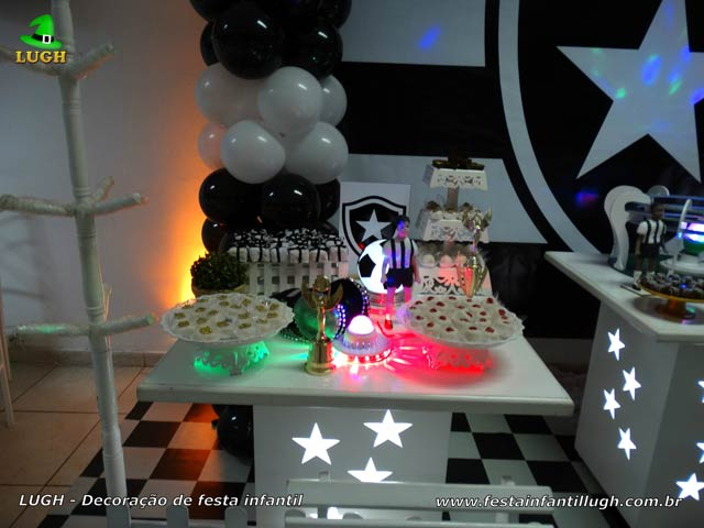 Aniversário tema Botafogo decoração festa infantil, adolescentes e adultos