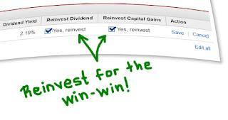 Reinvestment Options