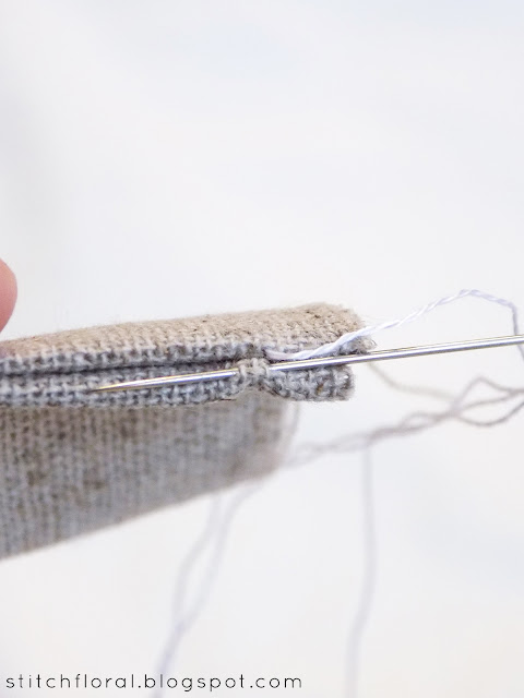 Invisible seam tutorial: learn to hide your stitches