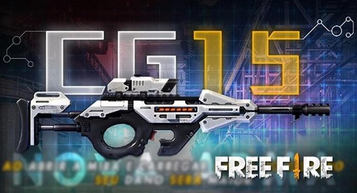 Inilah Senjata Baru CG15 di Free Fire, Unik Punya 2 Mode Tembak!