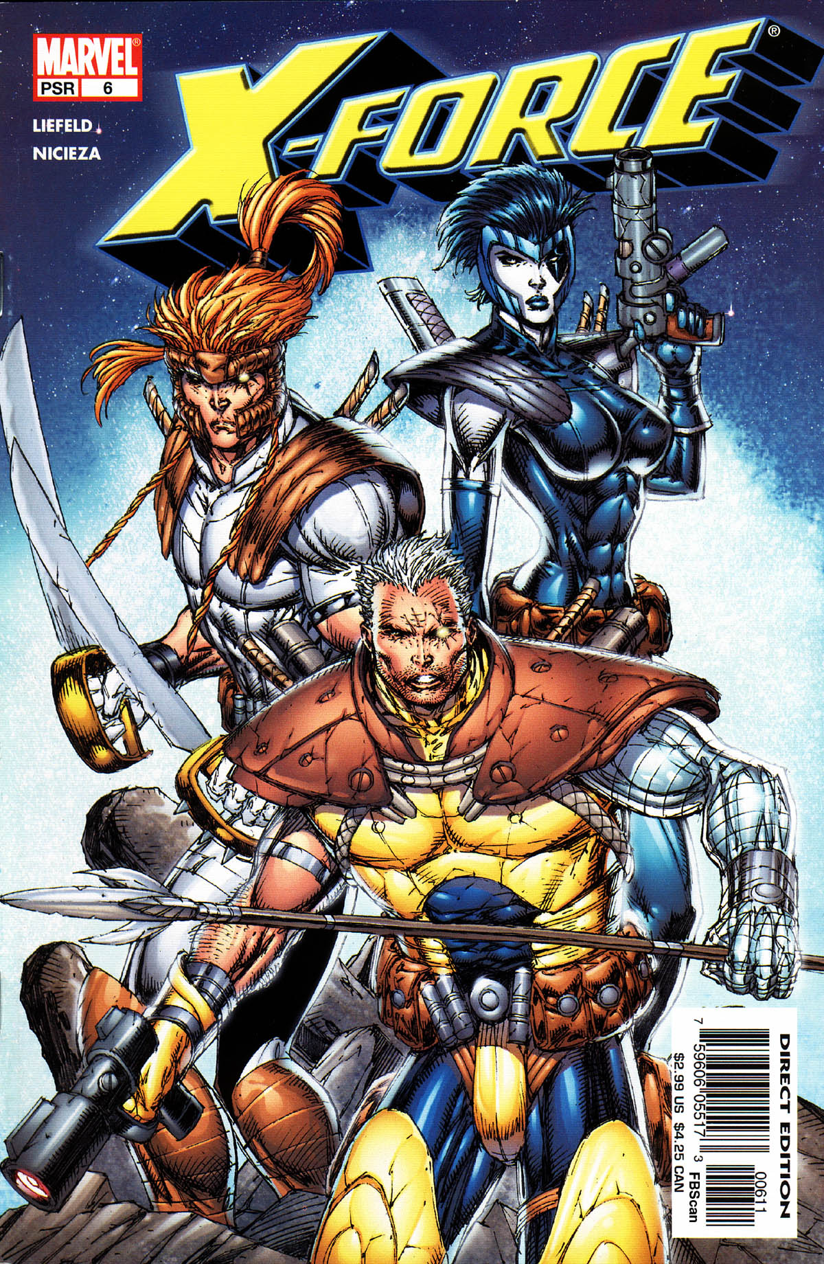 Read online X-Force (2004) comic -  Issue #6 - 1