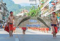 Besao Placard Bearers