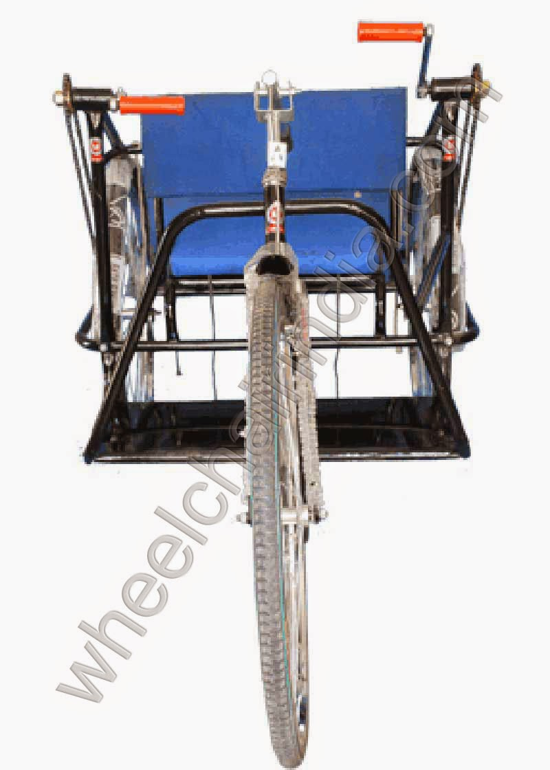 Tricycle Deluxe Double Hand Drive
