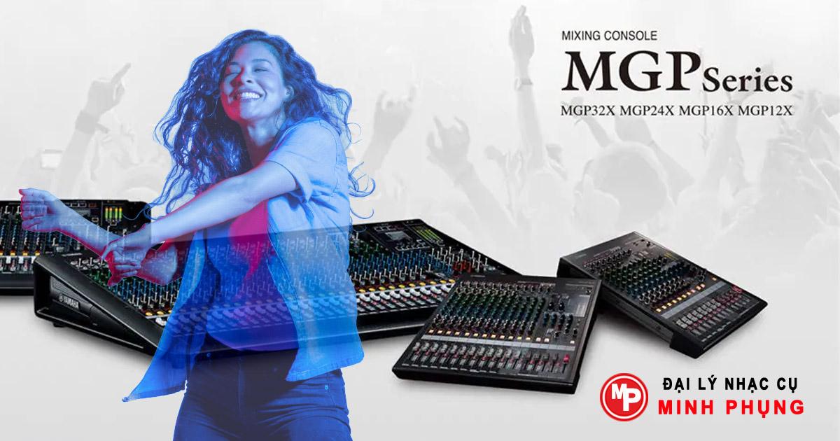 Bàn Mixer Yamaha MGP 12X nhập khẩu siêu rẻ