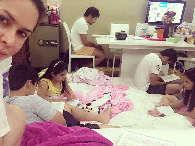 Senator Pacquiao And His Family Reading The Bible Goes Viral! Check This Out!