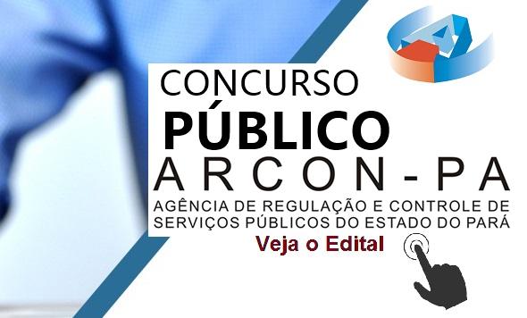 Concurso Arcon - Agência de Regulação e Controle de Serviços Públicos do Pará