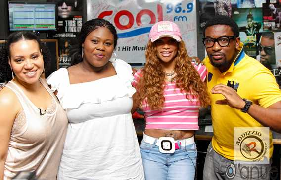 5.+S n P+with+Dotun+&+Temi Photos: 80s rap group, Salt N Pepa in Nigeria for May 1 concert