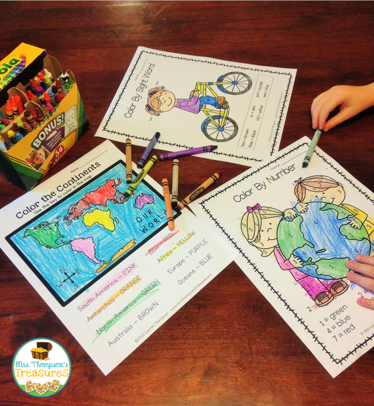 https://www.teacherspayteachers.com/Product/All-About-the-Earth-Print-and-Go-Math-Literacy-No-Prep-1766353