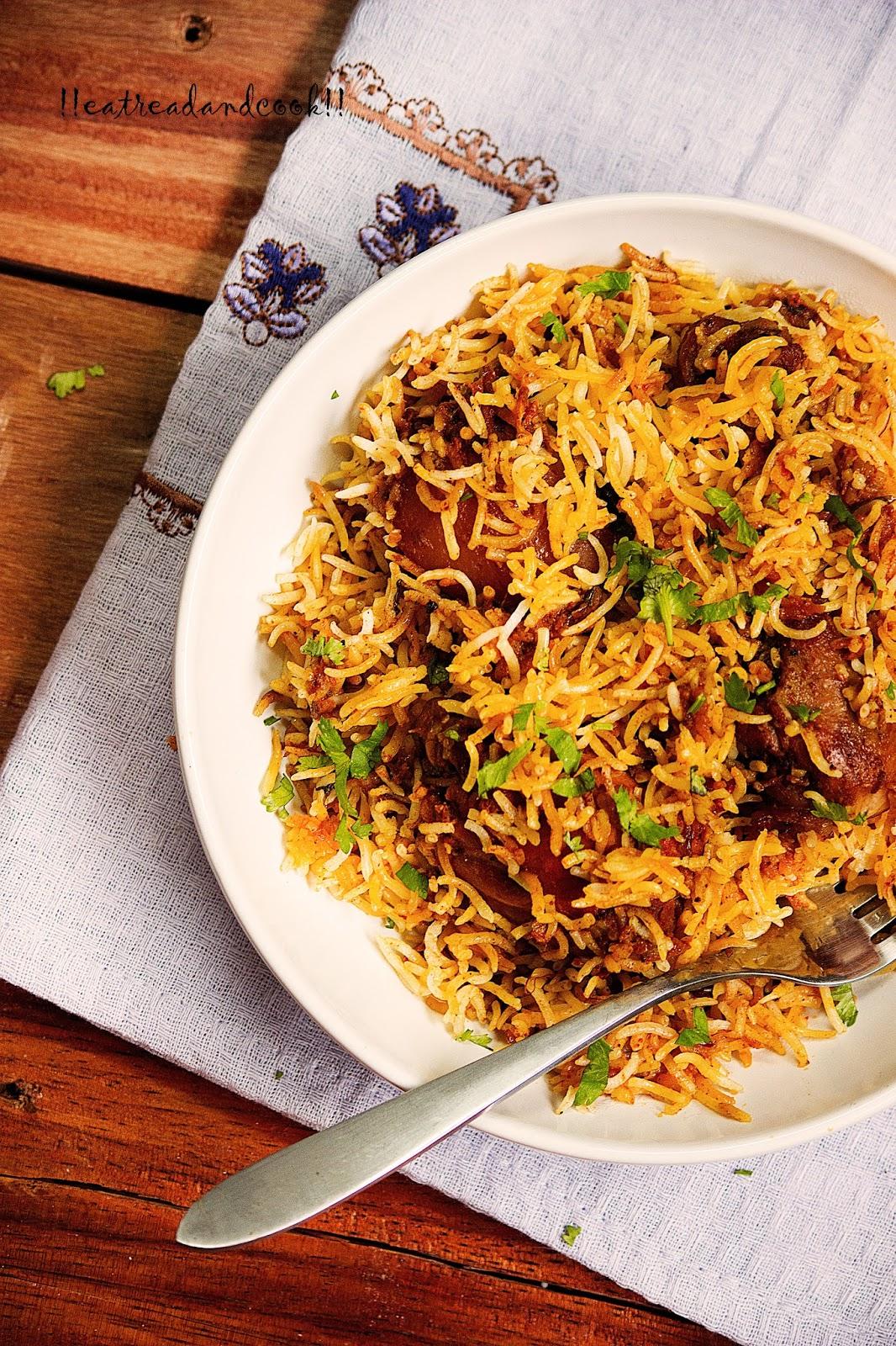 Traditional muslim biryani eat read cook how to make traditional muslim biryani recipe and preparation forumfinder Gallery