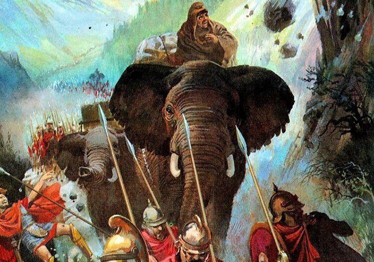 İkinci Pön Savaşı, Roma için iyi gitmiyordu ama bir an olsun geri çekilmeyi düşünmemişlerdi.