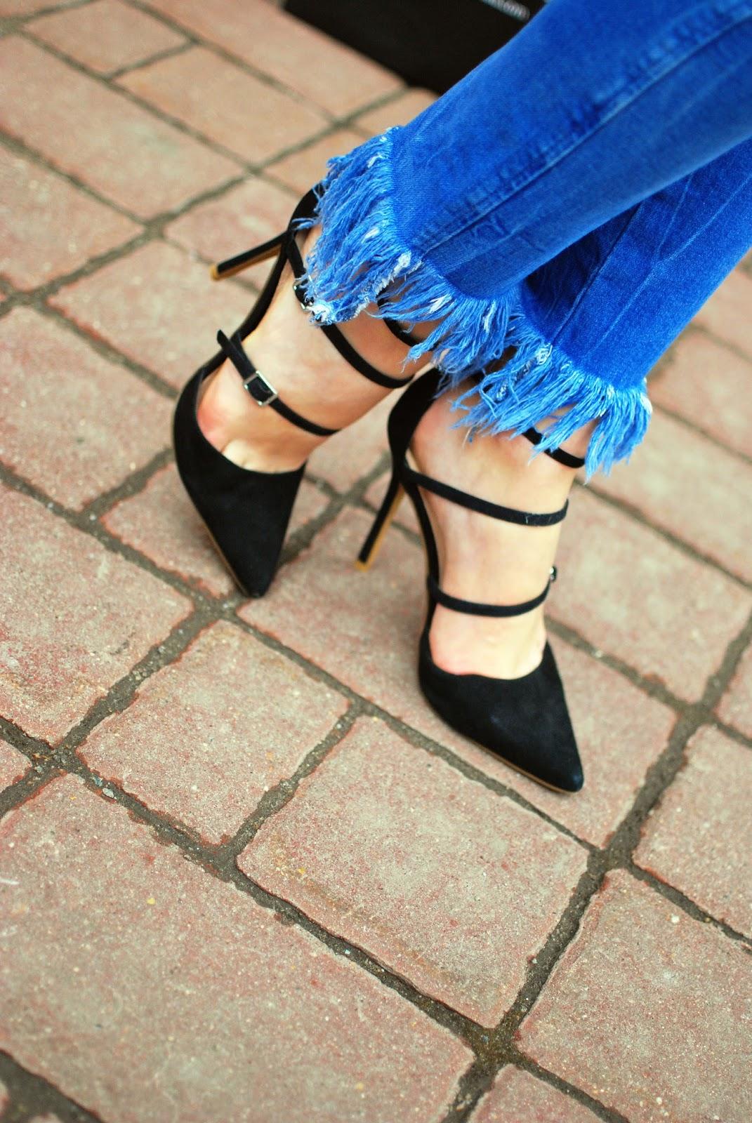 best shoes street style, costa de la moda, strap shoes what to wear