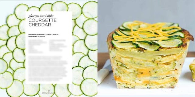 recette cuisine courgette cheddar
