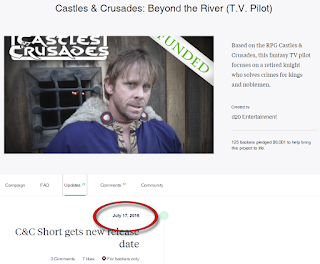 "Ken ""Whit"" Whitman has Given up all Pretense of Fulfilling the Castles & Crusades Kickstarter"