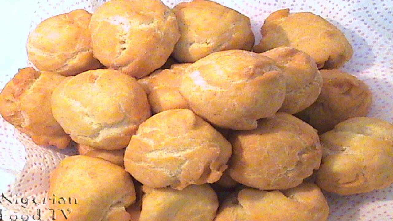 Nigerian Buns Recipe, How to Make Nigerian Buns, Nigerian Buns