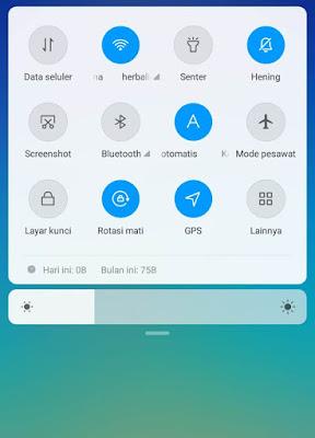 Mengaktifkan GPS Lewat Menu Asisten  Di Xiaomi Redmi 5A
