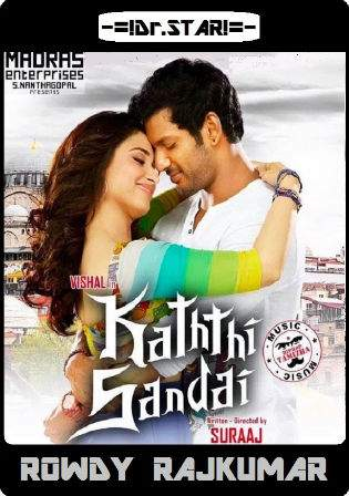 Kaththi Sandai 2016 HDTVRip UNCUT Full Hindi Dubbed Dual Audio 720p Watch Online Full Movie Download bolly4u