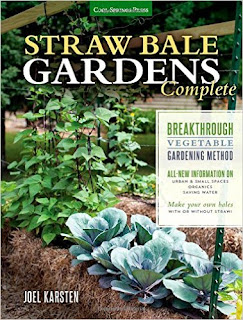 A treasury of garden books: Straw Bale Gardens Complete cover