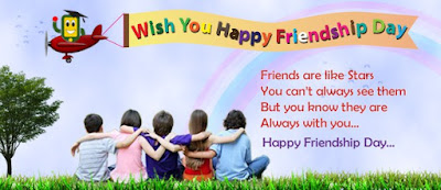 Happy Friendship Day wishes in Hindi and English