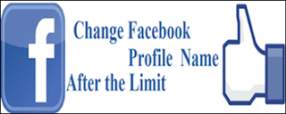 change name Facebook Profile