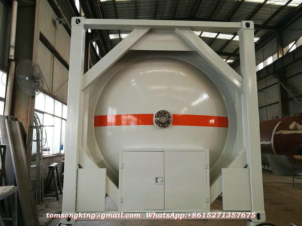Liquid Chemical ISO Tank Container HCL acid   ISO Containers