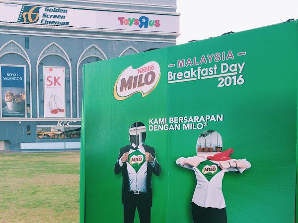 MILO Breakfast Day 2016 , Melaka