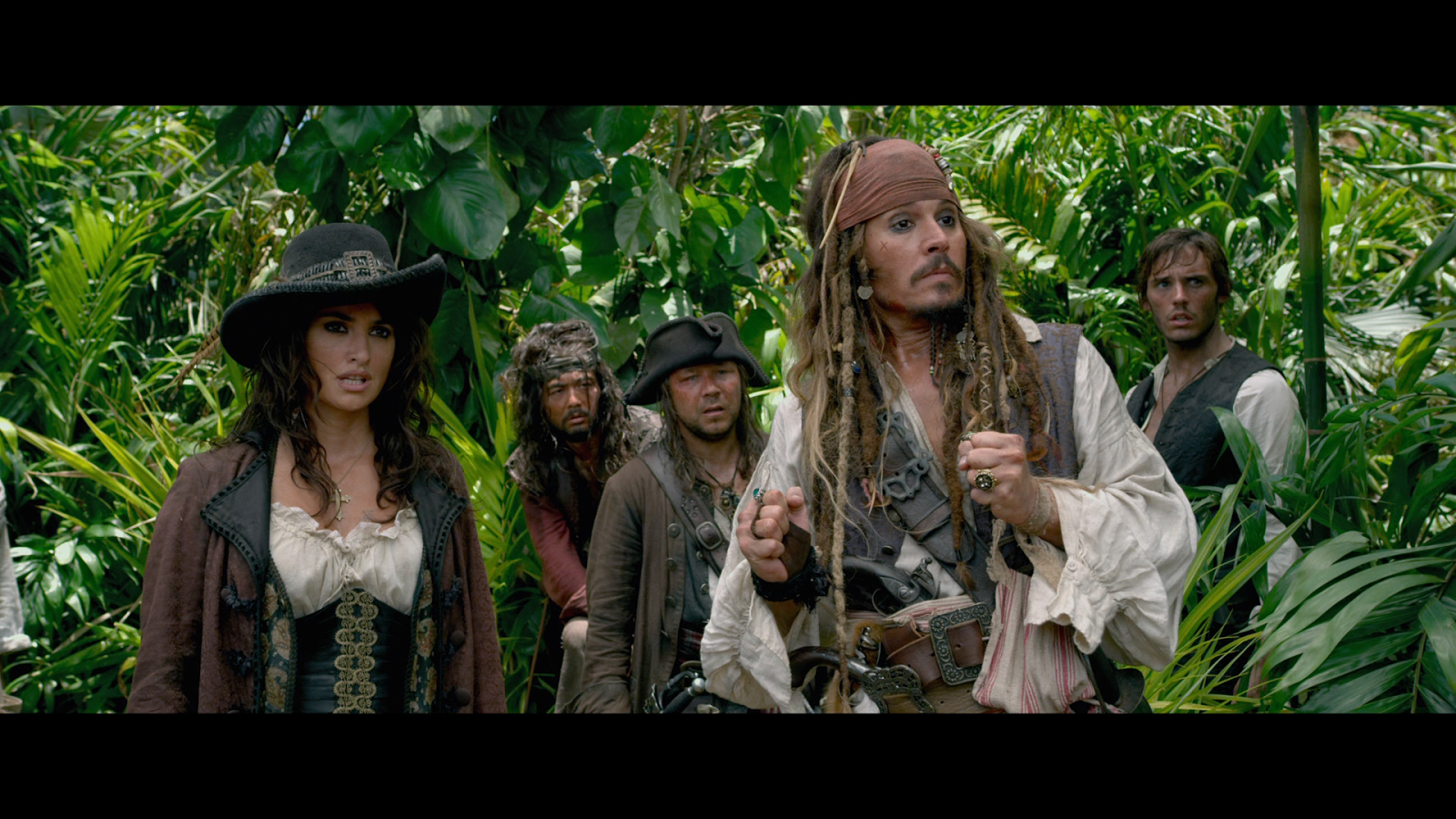 Piratas del Caribe 4: Navegando en Aguas Misteriosas (2011) BRRip Full HD 1080p Latino - Ingles captura 4