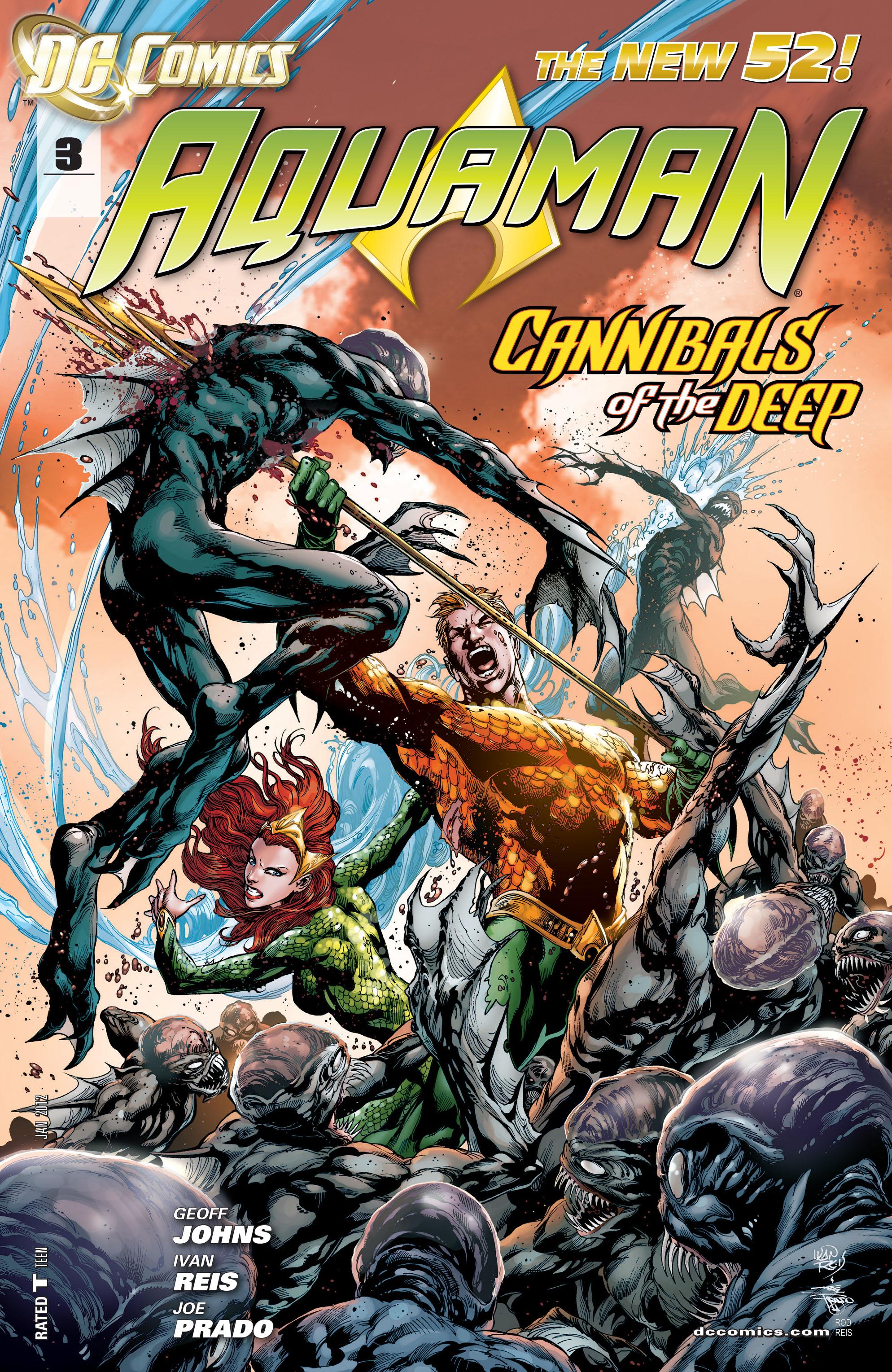Read online Aquaman (2011) comic -  Issue #3 - 1