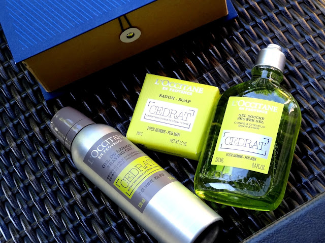 L'Occitane Invigorating Cedrat Collection