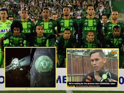 Pasukan Atletico Nacional Mahu Chapecoense Diisytihar Juara Copa Sudamericana Selepas Nahas Pesawat