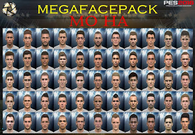 PES 2016 Mega Facepack by Mo Ha