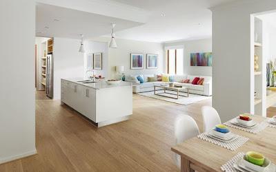 Resultados de imagen de pisos estilo abierto