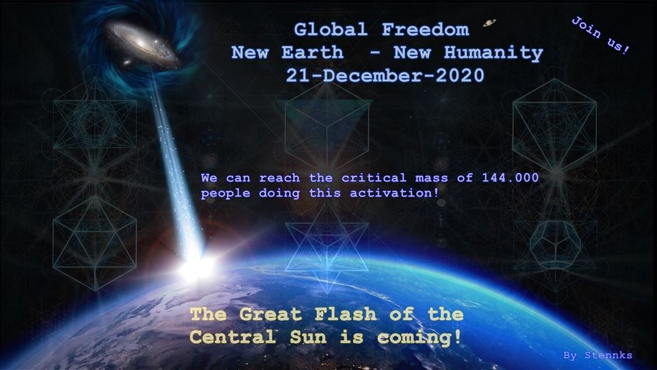 Joint the Planetary Liberation Force reaching the Critical Mass