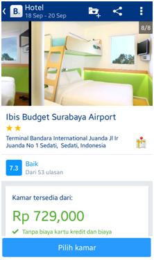 Halaman Hotel ibis budget Surabaya Airport