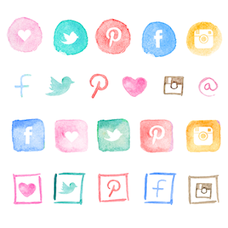 free-watercolor-social-media-icons-blog