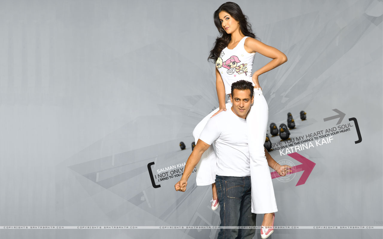Only-Katrina Katrina Kaif With Salman Khan-1482