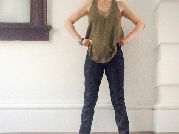 Meine selbstgemachte Jeans - Schritt 4: Änderungen