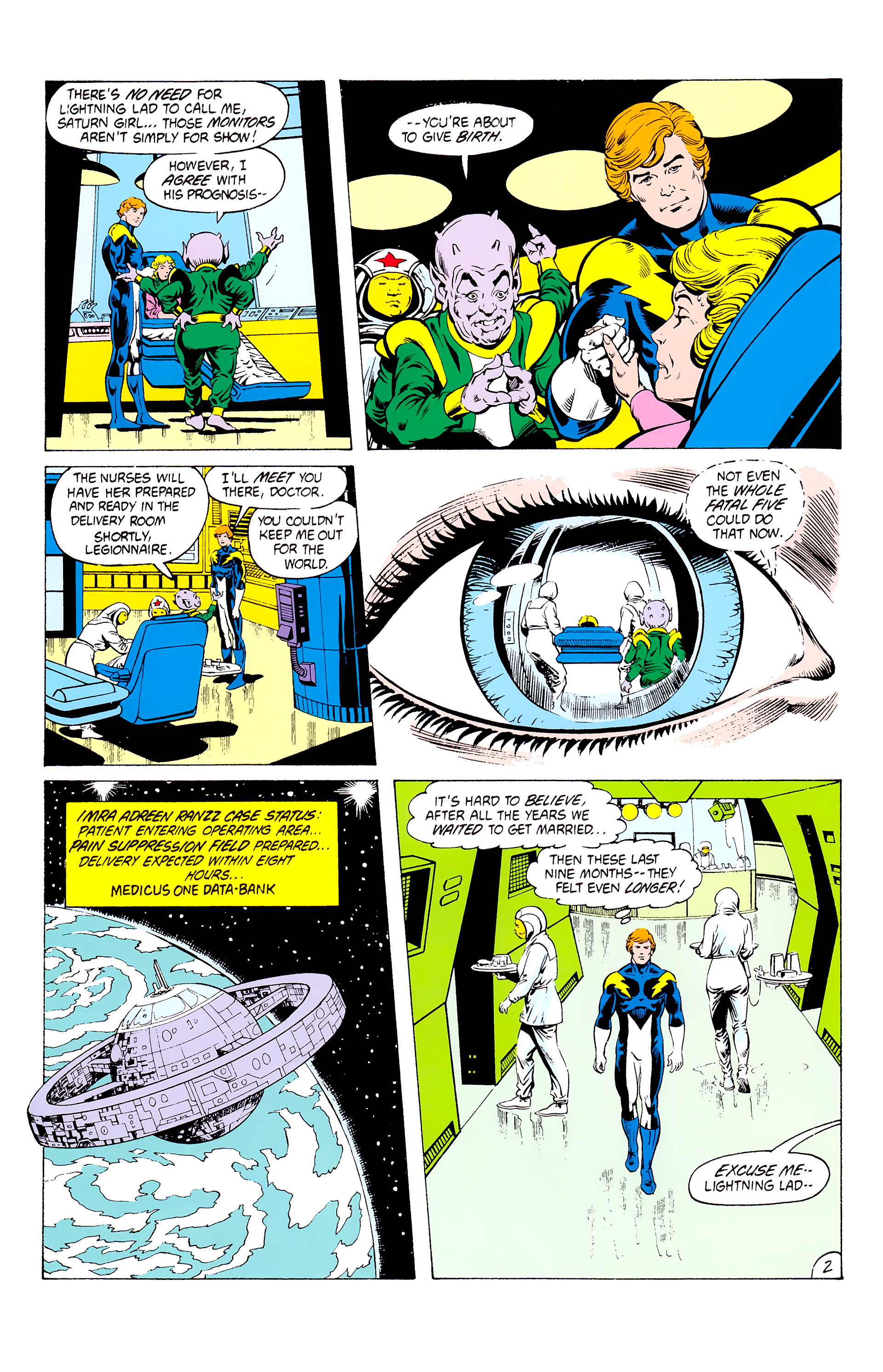 Legion of Super-Heroes (1980) _Annual_3 Page 2