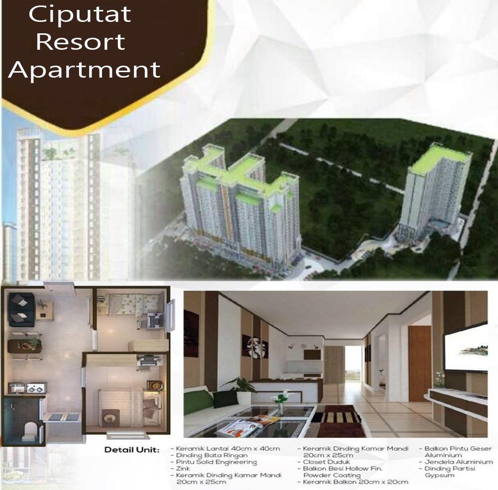 Cari Apartemen di Tangerang Pilih Ciputat Resort Apartemen