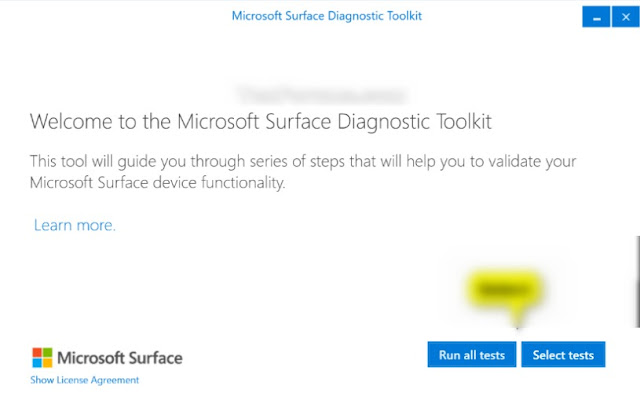 Microsoft Surface Diagnostic Toolkit Lets You Test Your Device hardware