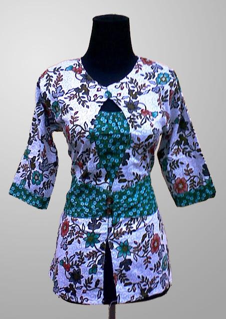 Model Baju Batik Wanita Kekinian yang Akan Membuatmu ...